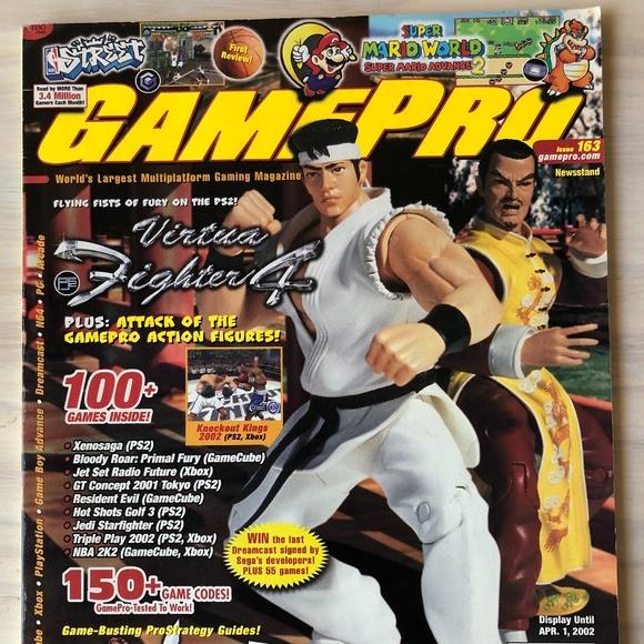 GamePro Magazine Issues #163-170 - Set of 8